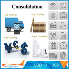 Consolidation service drop shipping logistics custom clearance broker factory inspection