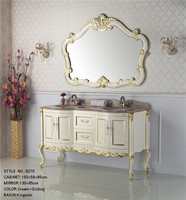 Brass Good Quality In-Wall 45 inch bathroom vanity