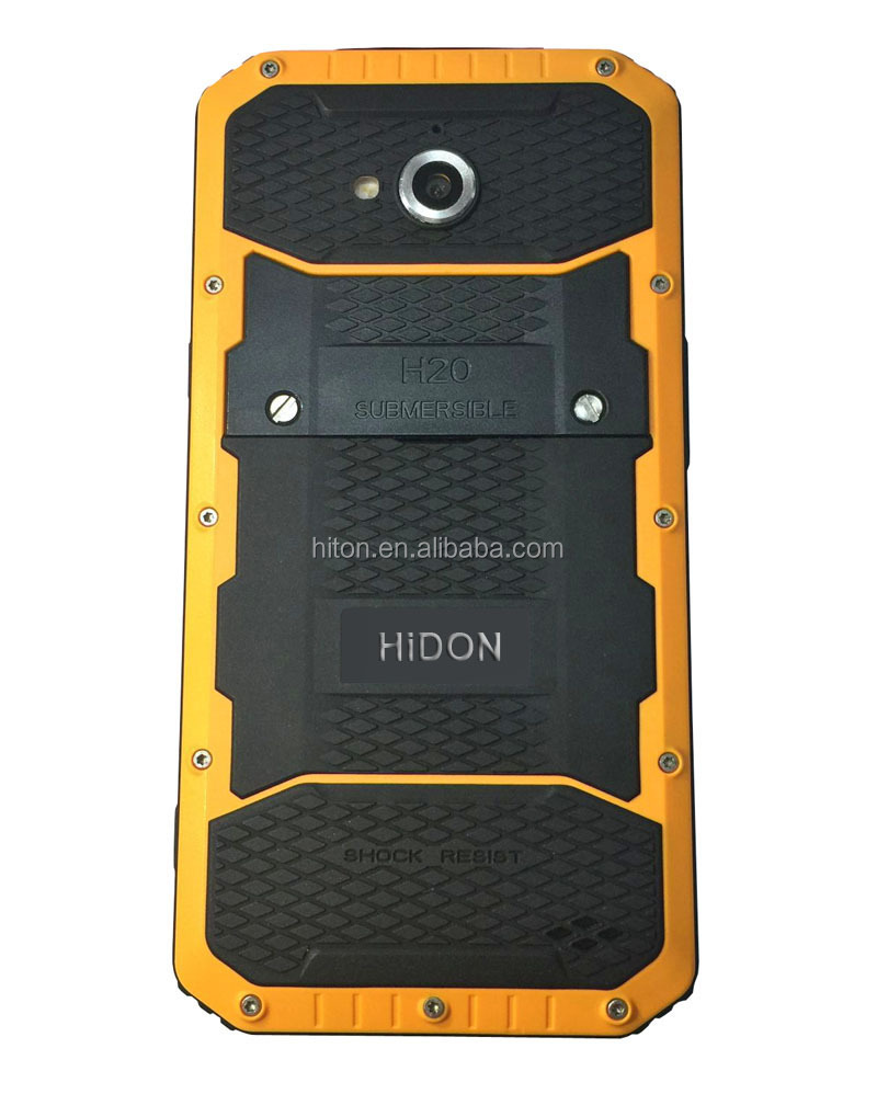 Factory 5inch IP68 tri-proof rugged water phone with 4G LTE GPS FM industrial waterproof smart phone for oil, gas and mining