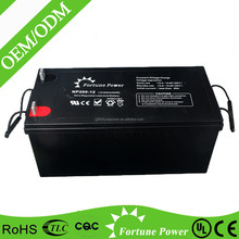 2015 hot sale solar power battery 12v 250ah electricity energy store battery solutions
