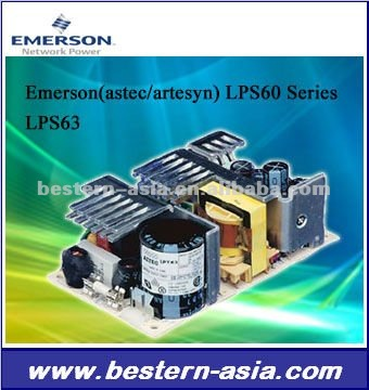 Emerson Astec LPT60 Series 60W Power Supply LPT63