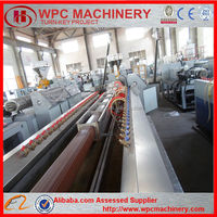 WPC panel/decking/flooring/fence/wall extrusion machine
