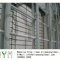 QYM Twin Wire Welded Mesh Fence