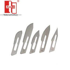 Disposable Medical Surgical Stainless Steel Scalpel Blade