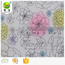 custom print fabric wholesale silk cotton plain fabric