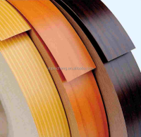 plastic wood grain trim pvc edge banding strips