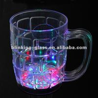 led flash drinking glass