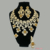 S-2 Xuping fashion african bridal wedding jewelry sets, luxury saudi gold plated zirconia dubai jewellery set for women