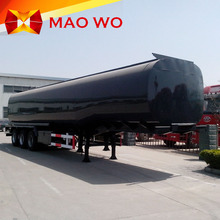 Tri-axles 30 cbm capacity fuel oil tanker truck trailer for sale