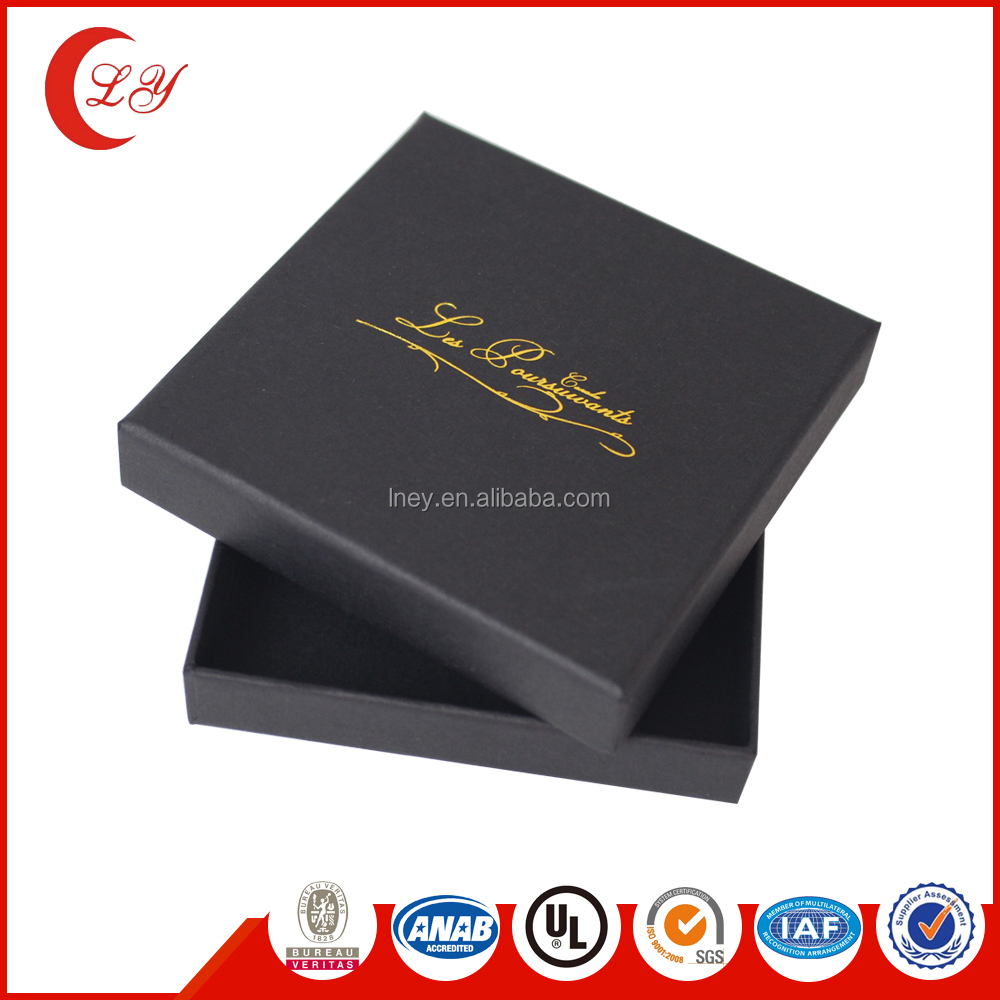 Custom slide different shaped wedding luxry paper silver black matte packaging gift box