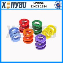 Colored Customed Plastic Compression Springs