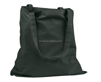 New woman black thin cotton bag with handles