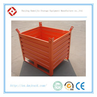 Industrial Stackable Foldable Metal Bin