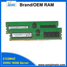 Wholesale 2133mhz ddr4 16gb server ram manufacturer from China