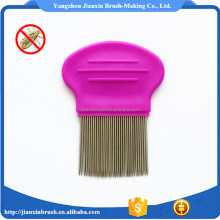 Lice cleaning tool mens plastic hair comb