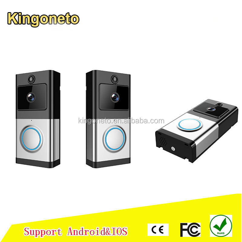 Smart home wireless video door bell for villa intercom system support APP remote control