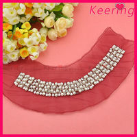wholesale sex red lace pearl beaded neckline trimming for girl garment decoration WNL-1330