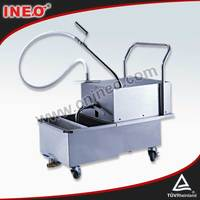 Commercial Deep Fryer Oil Filter Machine/Deep Fryer Filter Machine/Deep Fryer Oil Filter