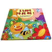 colorfull hardcover children story book printing
