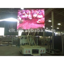 P10 Outdoor high density moving LED Advertising Billboards