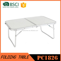 2016 cheaper foldable lap top table mini slim folding camping table
