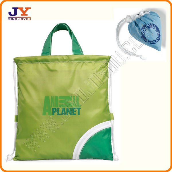 210D foldable polyester shopping bag