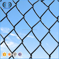 hot dipped galvanized cyclone mesh /PVC coated chain link fence