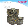 Classical Style Resin Owl Sculpture