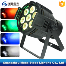 7x12w rgbaw Light DMX 512 4/8 Channel Led Par mini light