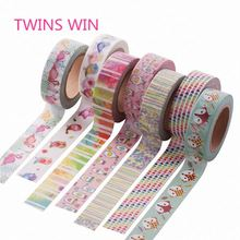 Korean Decorative custom Waterproof <strong>Adhesive</strong> printed Hot Melt colored 3m masking Washi tape for painters 438