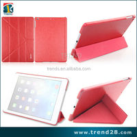 high quality folding stand leather case for ipad air 5