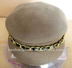 brown riding hat.2012 fashion newsboy hat. polo hat