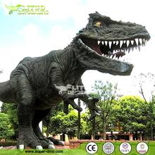 Simulation Replica Sculpture Fiberglass Dinosaur