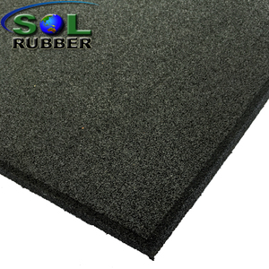 6-50mm China suppliers heavy duty Gym Rubber Flooring Tiles