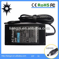 power supply lcd tv for lg tv 24v 3a adapter