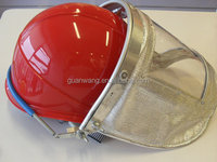 PMMA face mask Protective face shield/ABS safety helmet