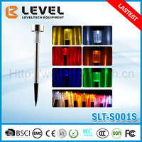 Sales Promotion 1pc 1.2V NI-MH AA 600MAH+1pc supper brightness LED White/Red/Yellow/Green/Blue Garden Solar LED Lights