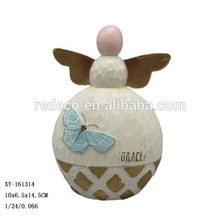 Personalized Small Resin Angel Figurines For Gift