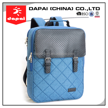 Good Quality College PU Material Sample Adult Designer Backpack