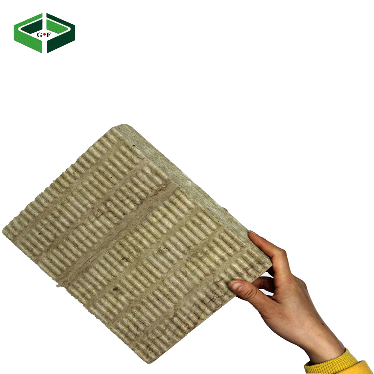 Cheap with good quality rock wool cubes sound insulation & fire proof rock wool panel