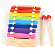 FQ band wholesale new product percussion kids interesting educational game toy musical instrument wooden mini xylophone