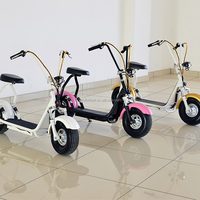 Popular citycoco for europe 1000W 60V Fat Tyre Citycoco Electric Scooter With Cheap Price
