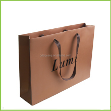 Printed custom made boutique paper shopping bags