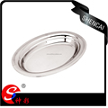 stainless steel food plate/dish
