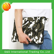 good quality camouflage picture envelope clutch bag messenger bag