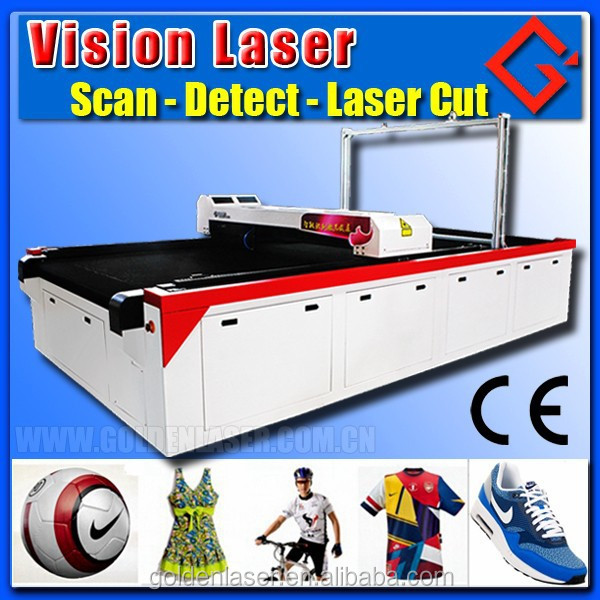 Sublimated Sports Clothing/Apparel/Garment Cutting Laser Machine