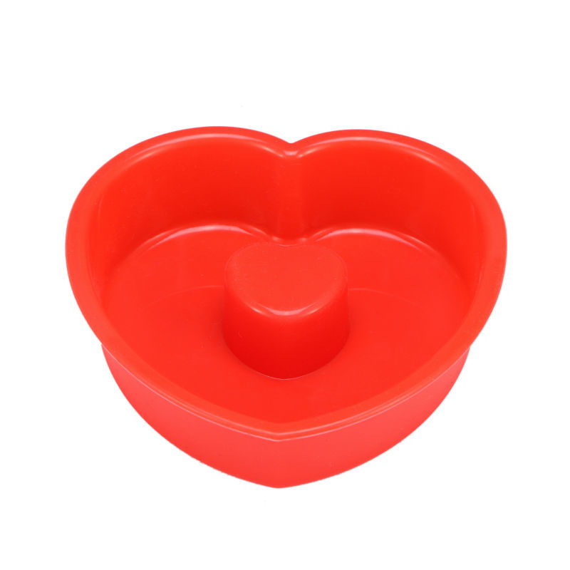 Heart shaped silicone molds cake decorating
