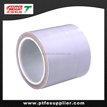 Heat Resistant PTFE Coated Fiberglass Reinforced Adhesive Tape for Food Packaging