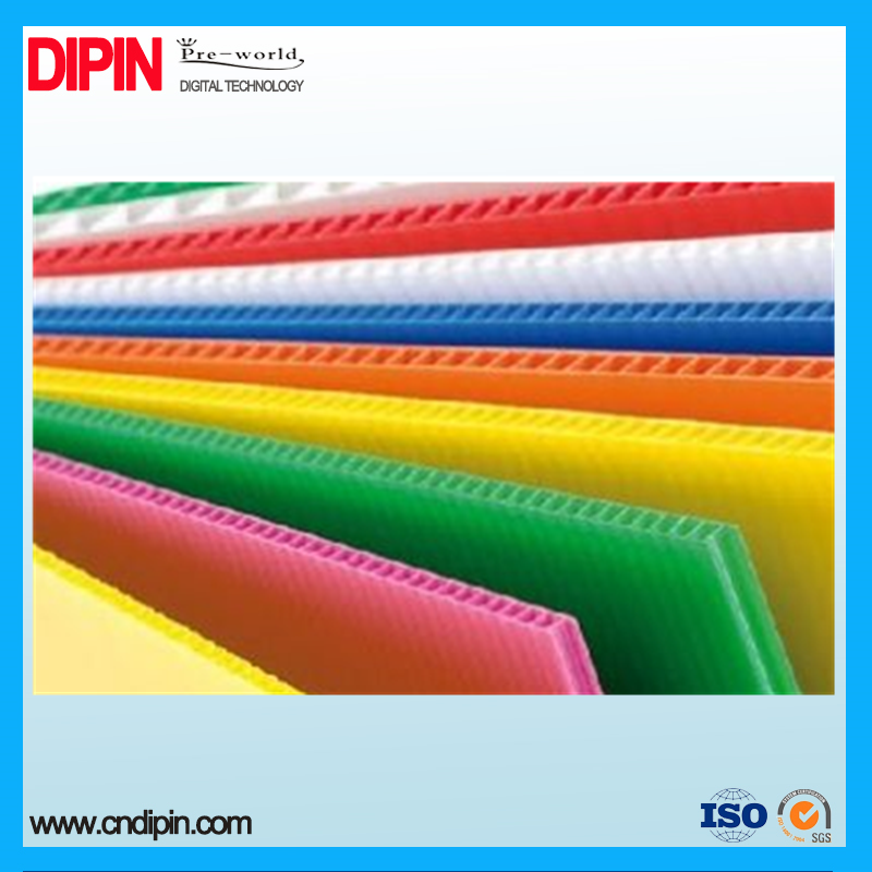 3 Corrugated plastic sheet mm 500gsm PP material board