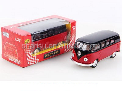 1:32 children model diecast car toy pull back open door